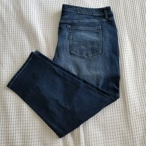 Faded Glory Distressed Jeans Plus Size 24w